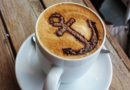 Coffee with anchor