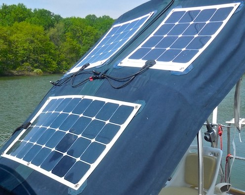 Flexiblesolarpanels Sailing N Cruising