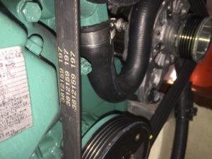 marine diesel belt tension